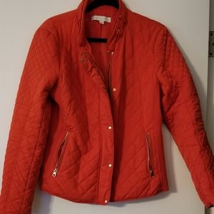 Red womens Jacket size Large